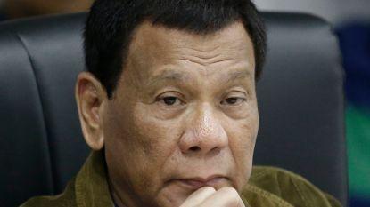 Filipijnse president Duterte heeft geen kanker