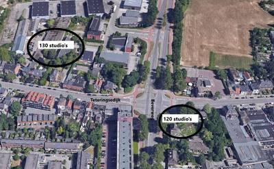 Teteringsedijk Breda: 250 studentenwoningen in twee nieuwe complexen