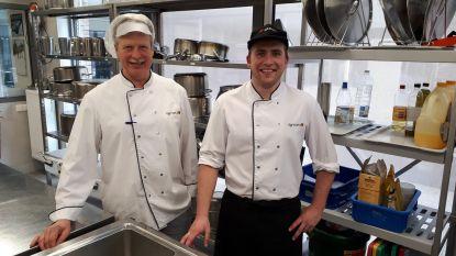 Egmont-kok bereidt topmenu voor amper 7 euro
