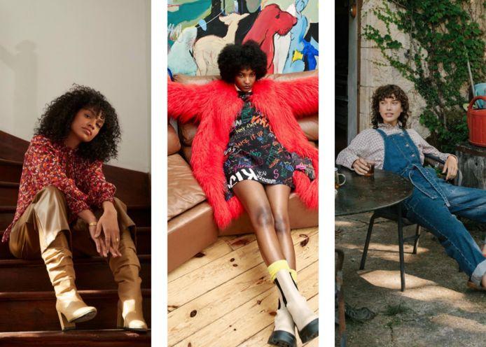 Foto's van drie Belgische merken: her., Essentiel Antwerp en Bellerose.