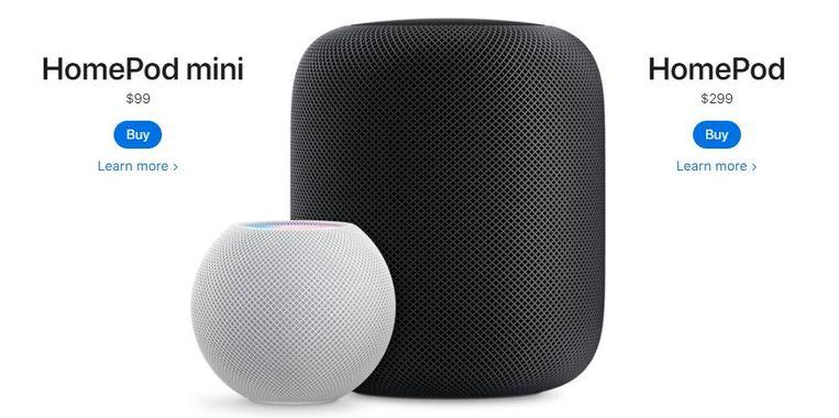 Apple stopt met de grote HomePod Beeld Apple
