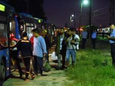 Vluchtelingen via Kroatië nu grens Hongarije dicht is