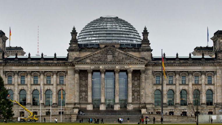 De Bondsdag in Berlijn. Beeld ANP