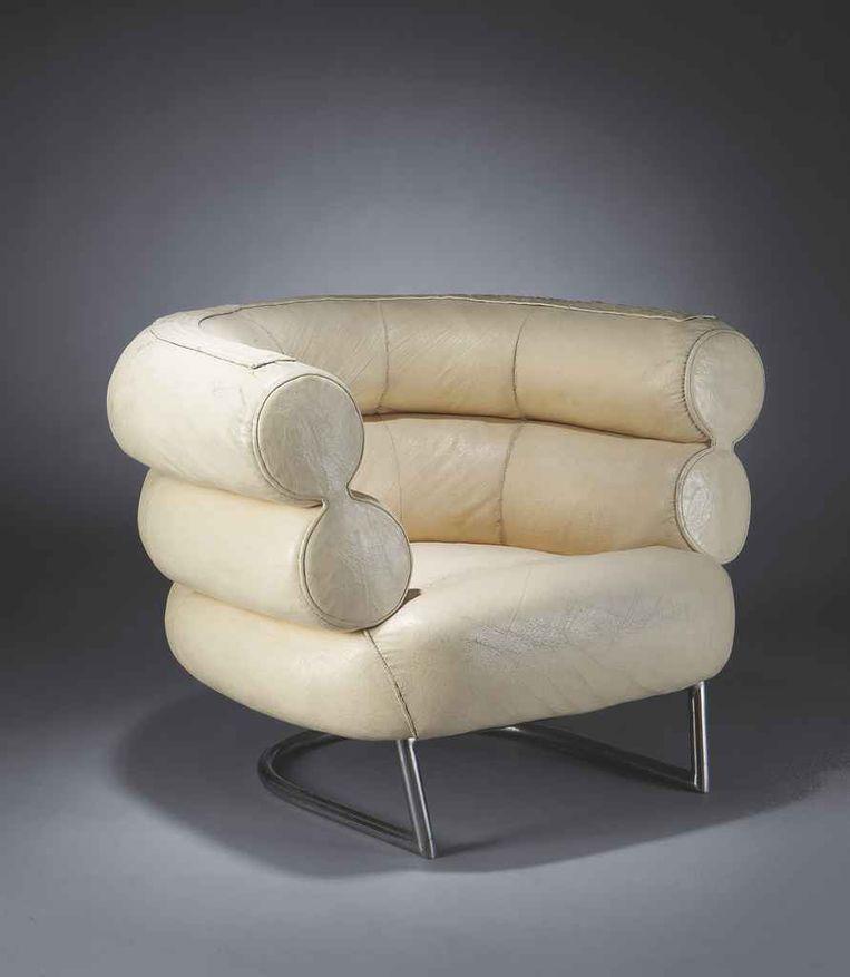 De Bibendum-fauteuil van Gray.   Beeld Christies (hoeft niet genoemd)