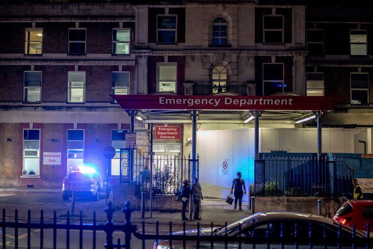 De spoedeisende hulp van het King's College Hospital in Londen. Beeld Hollandse Hoogte / The New York Times Syndication