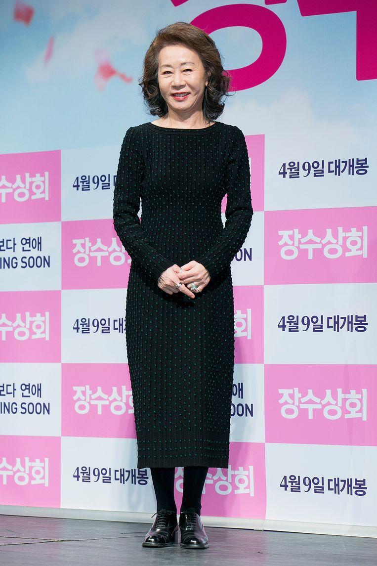 Actrice Youn Yuh-jung, te zien in de film Minari. Beeld WireImage