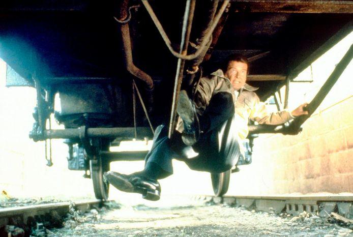 ANP Kippa Archiefbeeld. Een stuntscene uit Octopussy (1983).