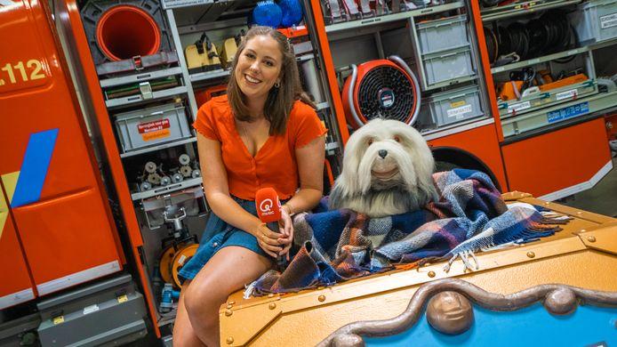 Samson & Marie zongen hun monsterhit 'Bij de Brandweer' bij - jawel - de brandweer.