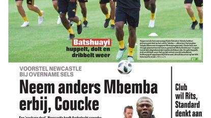 Neem anders Mbemba erbij, Coucke