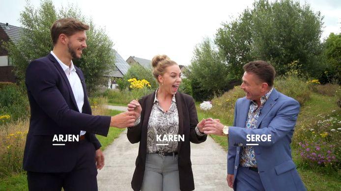 De Gentse vastgoedmakelaars Arjen, Karen en Serge gaan de uitdaging aan in het zevende seizoen van 'Huizenjagers'.