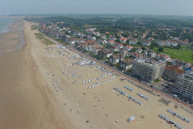 De kust van Knokke. Beeld Photo News