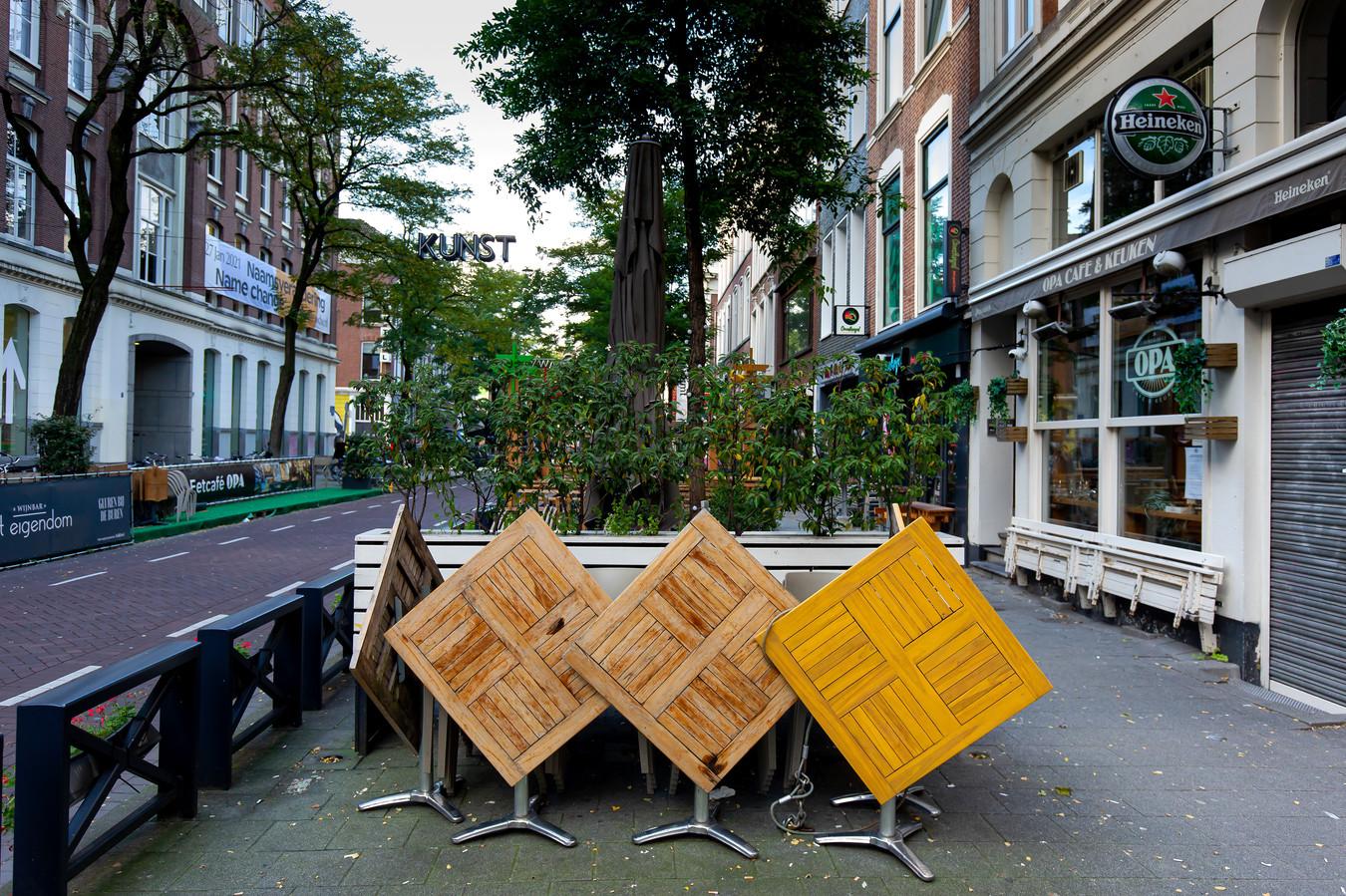 De Witte de Withstraat in het centrum van Rotterdam.