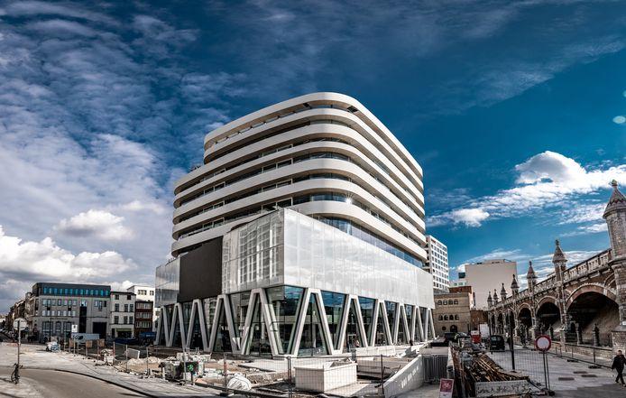 De redactie van Het Laatste Nieuws verhuisde dit jaar naar het Mediaplein - ooit Kievitplein - in Antwerpen.