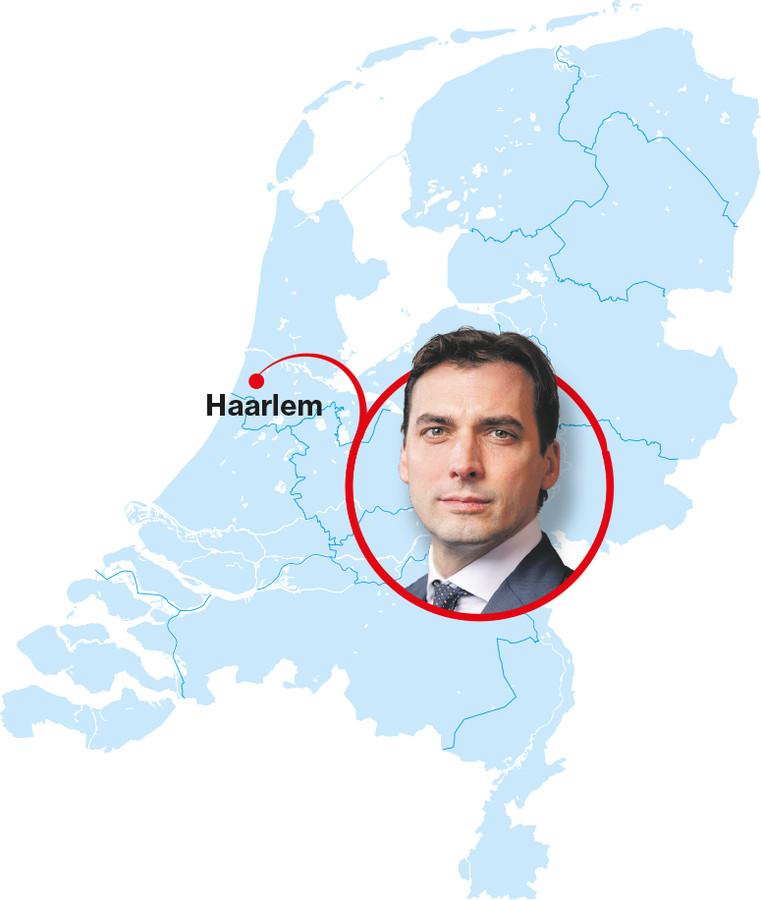 Land van lijsttrekkers Thierry Baudet Haarlem