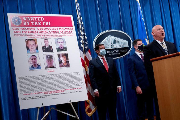 Een Russische groep die bij cyberonderzoekers bekendstaat als Dragonfly of Berserk Bear, zou volgens de VS verantwoordelijk zijn voor de aanvallen op de staten en lokale overheden. Beeld REUTERS