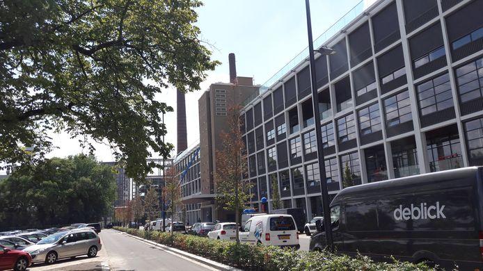 Gebouw TQ4, het grote oude Philips gebouw, op Strijp-T  in Eindhoven.