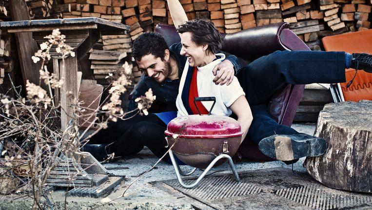 Lander en Inge over leven na de kanker: 'We zijn geen mensen die graag plannen, en in deze situatie is dat goed.' Beeld Jonas Lampens