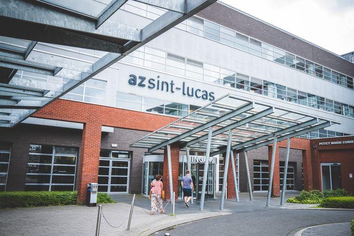 De aanval gebeurde in het AZ Sint-Lucas
