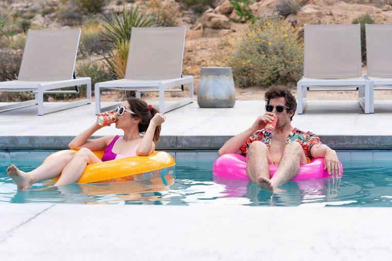 Still uit 'Palm Springs'. Beeld K2 / Filmstill