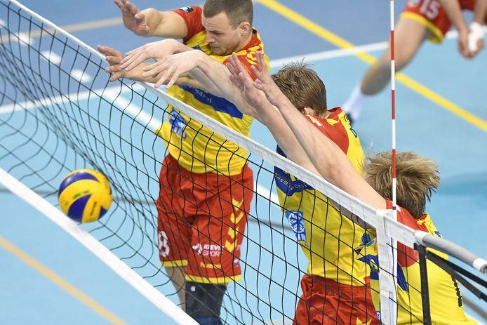 Het blok van Dynamo werkte perfect de vorige keer tegen Sliedrecht Sport. De return is nu uitgesteld.