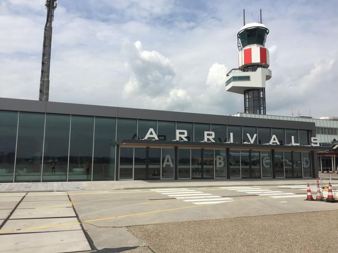 Hanse Staalbouw had eerder dit jaar nog een mooie klus: de bouw van een nieuwe aankomsthal op Rotterdam Airport