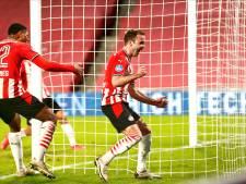 PSV speelt met vuur, maar pakt dankzij invallers late zege tegen Vitesse