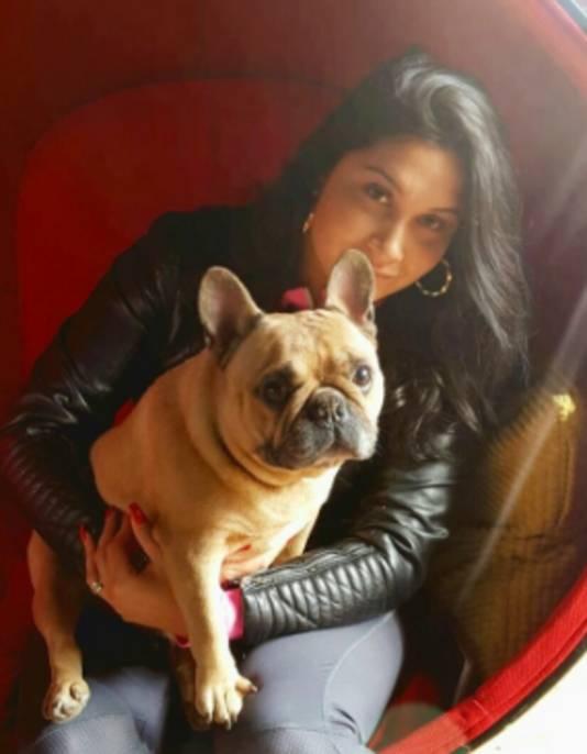 Talitha van Limbeek met Dushi