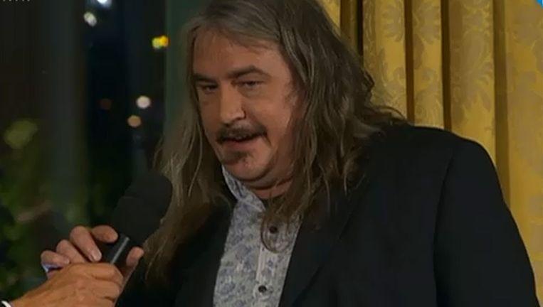 Ilja Leonard Pfeijffer na de bekendmaking Beeld Nieuwsuur