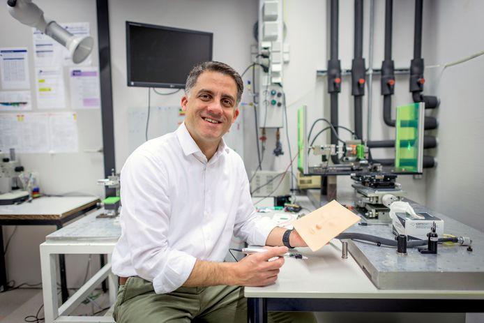 David Fernandez Rivas, onderzoeker aan UT.