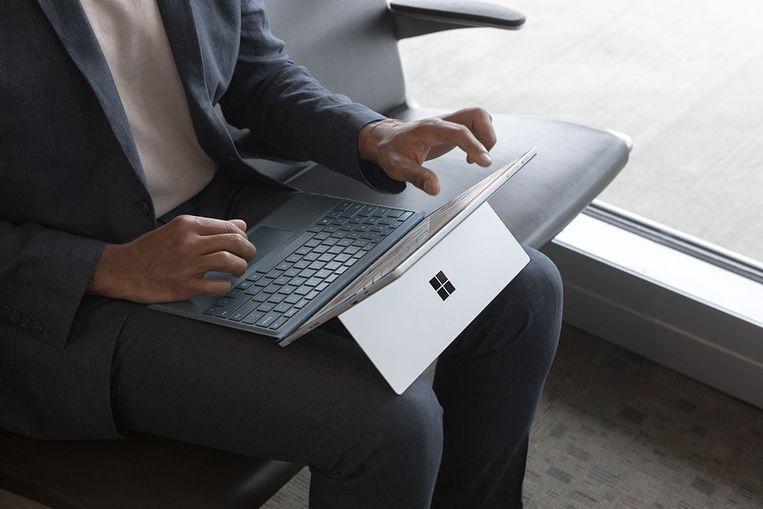 De nieuwe Surface Pro is een van de producten die vandaag aan een verscherpte prijs te vinden zijn. Beeld Microsoft