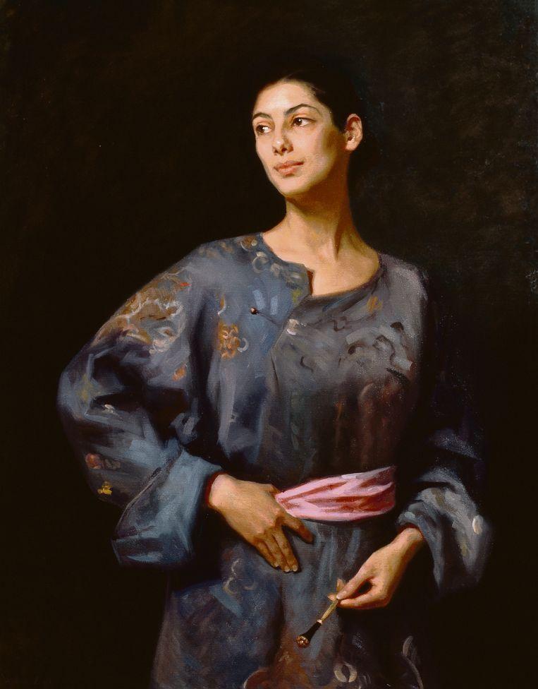 Staande vrouw met kimono, 2003. Beeld RV