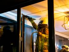 Vooral rookontwikkeling bij brand in kantoorpand in Oosterhout