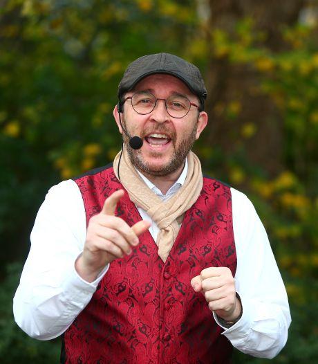 Peter ging na zijn burn-out aan de slag als verhalenverteller: 'Mooi als mensen geraakt worden'