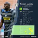 De wedstrijd van Lukaku.