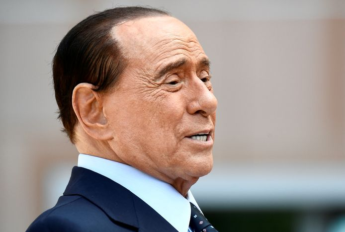 De vroegere Italiaanse premier Silvio Berlusconi.