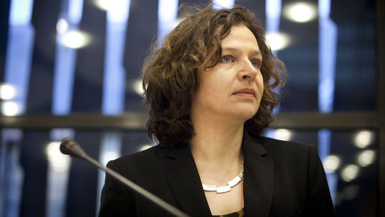 Minister Schippers van Volksgezondheid. Beeld anp