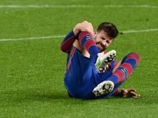 Domper voor Koeman: sterkhouder Piqué opnieuw weken lang aan de kant