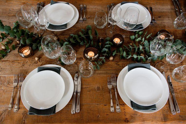 'Vert de luxe'-versie van Table in a Box.