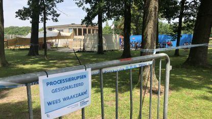 Alle hens aan dek in domein Sport Vlaanderen door ongezien aantal processierupsen