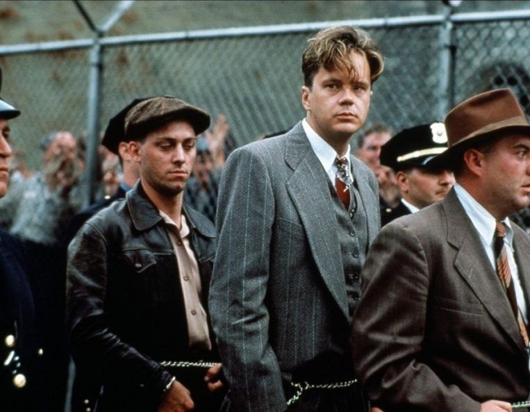 Andy Dufresne (Tim Robbins) Beeld Columbia Pictures