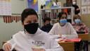 Zaid Zaouiati, met zwart masker aan.