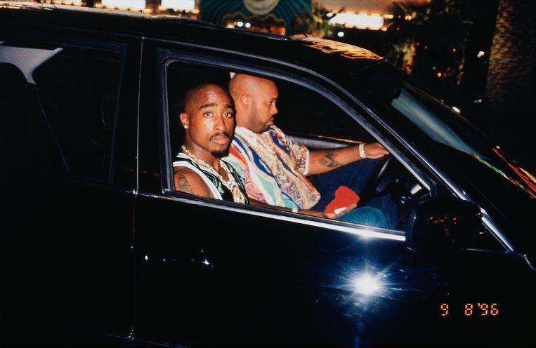 Tupac Shakur, 7 september 1996, in de docu 'A Life in Ten Pictures'. Beeld Leonard Jefferson