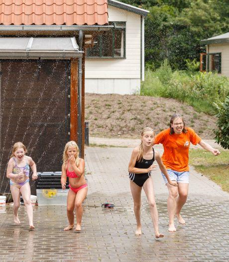 Spetterpret op familiecamping Vossenburcht in IJhorst