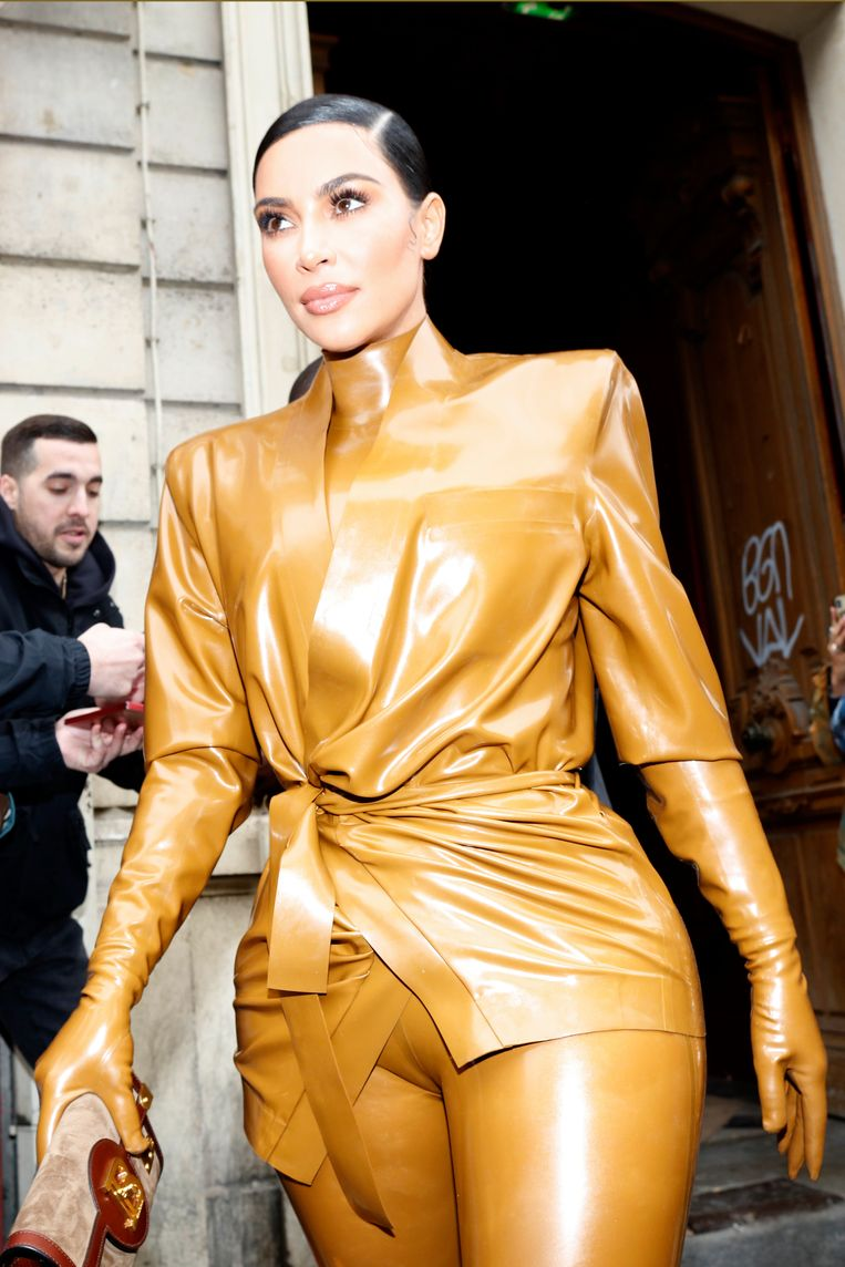 Kim Kardashian.  Beeld NurPhoto via Getty Images