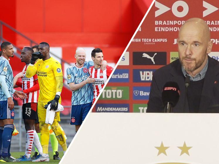Ten Hag: 'Het is duidelijk dat wij met 1-1 gewonnen hebben'