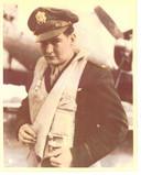 Amerikaanse oorlogsvlieger Jim Keelan.