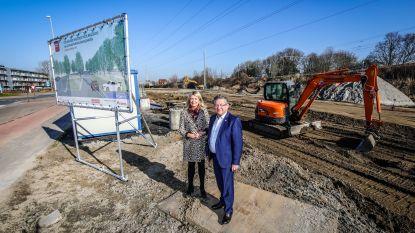 Nieuwe parking Waggelwater bij AZ Sint-Jan klaar tegen zomer