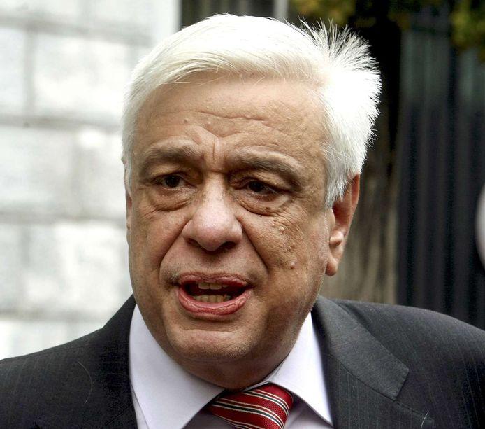 Prokopis Pavlopoulos was Grieks minister van Binnenlandse Zaken van 2004 tot 2009.