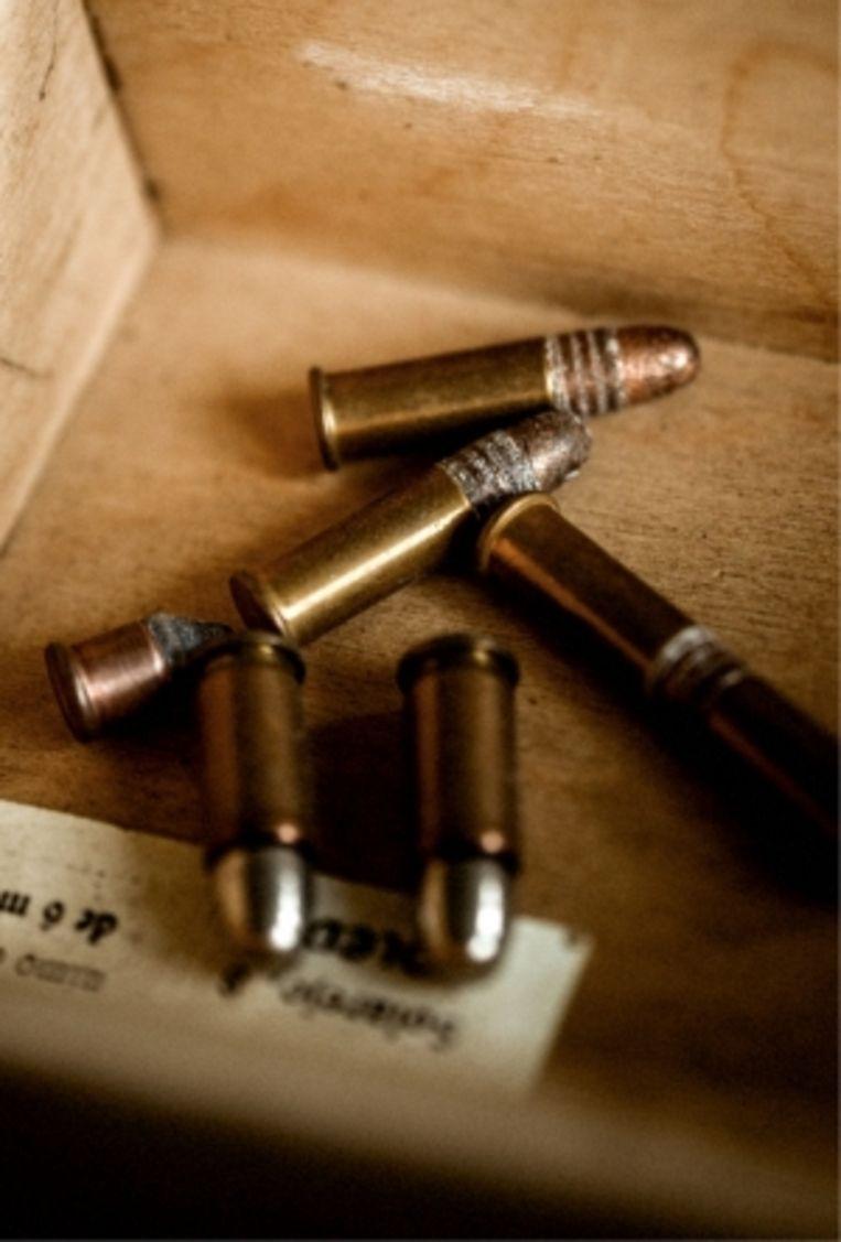 'Een doosje met kogels die wellicht door het lichaam van Lumumba zijn gegaan.: 'Ik wil alles aan het museum van Tervuren schenken. Het zelf bewaren is me te riskant.'' Beeld