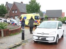 Fietsster belandt in ziekenhuis na aanrijding in Rijssen
